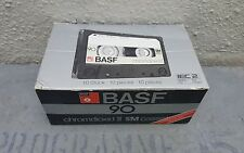 BASF Chromdioxid II SM 90 CASSETTA (confezione da 10): 1979: Germania: NUOVO & Sealed