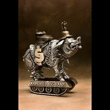 SCOTT NELLES Armored Pig Bank