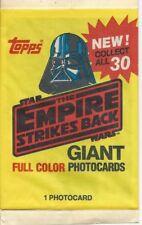 Star Wars Empire Strikes Back Giant Photocard