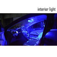 10x Car Neon Blue Interior Light Kit Custom Mod Lighting T10 501 LED