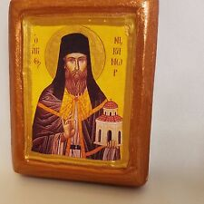 Saint Nikanor Nicanor Greek Orthodox Monastery Icon