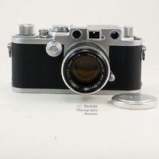 Leica IIIC Rangefinder 35mm Film Camera #400828 + Canon 50mm f1.8  early 1946