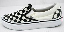 Vans Slip On Checkerboard Gums Womens sz 5 Shoes Black White  721356