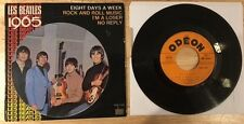 MEGA RARE FRENCH THE BEATLES EP ODEON SOE 3764 PRINTING DEFAULT!