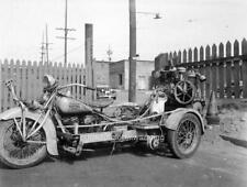 Photo. ca 1954. 1936 Indian Motorcycle Paint Sprayer