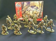 Airfix 1/32 British infantry WW2. professionally painted. 54mm. boxed