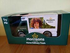 Morrisons Delivery Truck with sound effect and opening doors collectable item