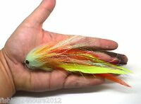 "6"" Trout Salmon Steelhead Pike Fly Fishing Streamer Flies NEW"