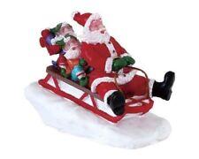 Lemax Sledding With Santa / Weihnachtsdorf Winterdorf Modellbau