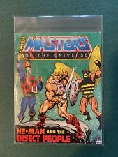 He-Man MOTU mini comic 1983 Mattel HE-MAN and the Insect People