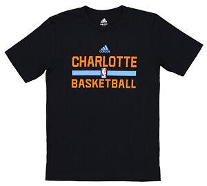 Adidas NBA Youth (8-20) Charlotte Bobcats Practice Short Sleeve T-Shirt
