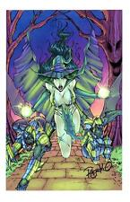 "WIZARD OF OZ: WICKED WITCH Signature Edition Art Print by RYAN KINCAID 11""X17"""