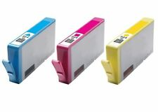 Tri-Colour Inkjet Compatible HP Printer Ink Cartridges