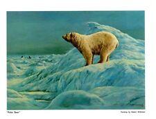 "DUCKS UNLIMITED PRINT ""POLAR BEAR"" Canadian Mallard Pintail DU GROUSE"