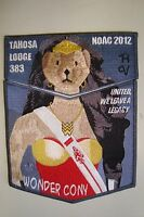 OA TAHOSA 383 DENVER AREA 2-PATCH DC WONDER WOMAN CONY NOAC 2012 DELEGATE FLAP