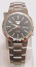 SEIKO 5 SNKA07K1 Stainless Steel Band Automatic Men's Black Watch 100% New