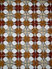 "Large Hand Painted Geometric Circles Symbols Painting 66"" x 18"""