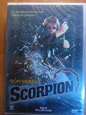 FILM DVD - SCORPION - CON DON MURRAY NUOVO SIGILLATO