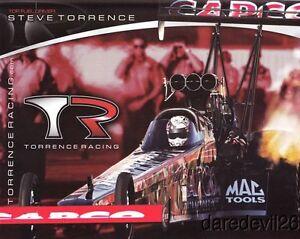 2013 Steve Torrence Capco Top Fuel NHRA postcard