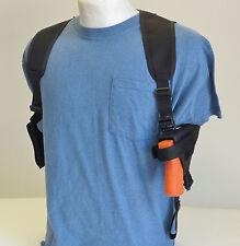 Gun Shoulder Holster Dbl Mag Pouch for Glock 19,23,38  with underbarrel Laser