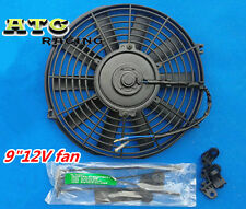 "9"" 12V Slim Radiator Cooling Thermo Fan & Mounting kit"