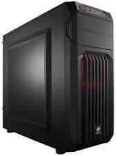 Corsair Carbide Series SPEC 01 RED LED Black ATX Mid Tower Gaming Computer Case