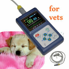 Veterinary Animal PORTATILE Pulse Oximeter W USB PC Software CE Certified