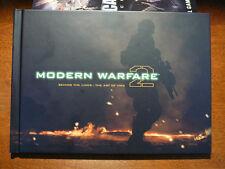 MW2 Modern Warfare 2 Graphic Art Book Hardened Prestige Edition Call Of Duty