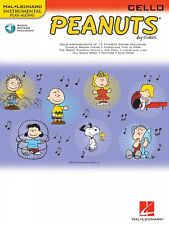 Peanuts for Cello Instrumental Play-Along Book and Audio New 000842439
