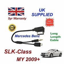 For Mercedes Benz SLK Audio Samsung Galaxy HTC Sony Micro USB & AUX 3.5mm CableL