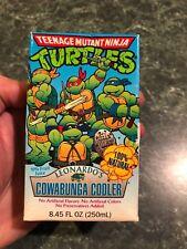 Vintage Teenage Mutant Ninja Turtles Cowabunga Cooler Juice Pack *NEW* VERY RARE