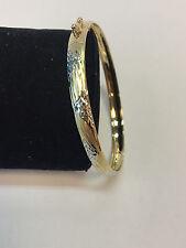 Armreif Armspange Gold 585 14 K Gelbgold Hochzeit geschenk Damen Armband Bicolor