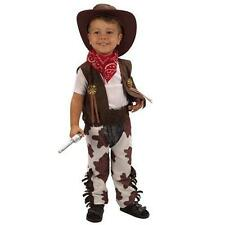 Toddler Cowboy Hood Fancy Dress up Party Costume Age 3 World Book Day