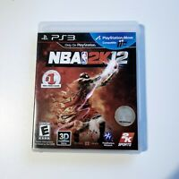 NBA 2K12 (Sony PlayStation 3, 2011) PS3 Complete with Manual
