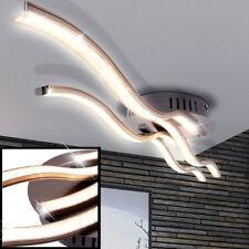 LED Decken Lampe Kristall Optik Beleuchtung 1162lm Wellen Leuchte Glitzer Folie
