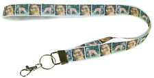 More details for brussels griffon breed of dog lanyard key card holder perfect gift