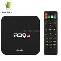 R39 4K Smart Media Player RK3229 Quad Core Android 8.1 WiFi TV BOX 2GB+16GB L7C9