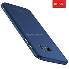 Navy Blue Thin Slim Matte Hard Back Case Cover For Samsung Galaxy S7 Edge S001