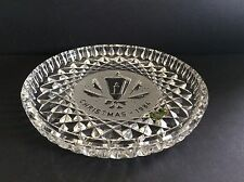 WATERFORD CRYSTAL 1984 CHRISTMAS PLATE TWELVE DAYS COLLECTION CANDLE LANTERN