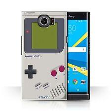 STUFF4 Back Case/Cover/Skin for BlackBerry Priv/Games Console