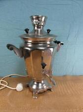 Samowar Teemaschine Antik Stil Metall Elektrisch teamaker Wasserkocher o15d1