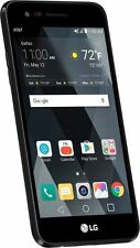 "AT&T GoPhone LG Phoenix 3 5"" 4G LTE 16 GB GSM - Black + Free fast shipping"