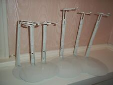 Lot Kaiser Doll Stands White Cushion Coated Wire # 2501 & # 3001