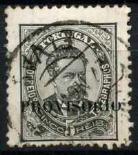 Portugal 1892 SG#282, 5R Black Optd Provisoria Used #D65677