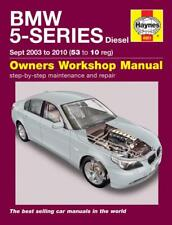 Haynes Workshop Manual BMW 5 Series E60 E61 Diesel 2003-2010 Service & Repair