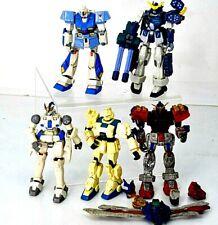 Lot of 5 Bandai Mobile Suit Gundam Action Figures