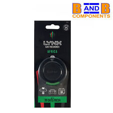 Lynx AFRICA 3D Hanging Car Air Freshener Fragrance Scent A1620