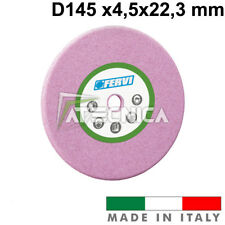 Mola abrasiva corindone rosa per affilature FERVI M162 diametro 145 x4,7x22,3mm