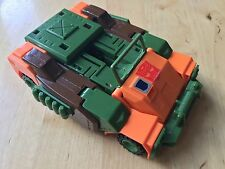 Transformers G1 1985 Roadbuster vehicle bandai