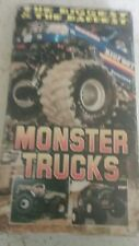 The Biggest and The Baddest monster truck vhs